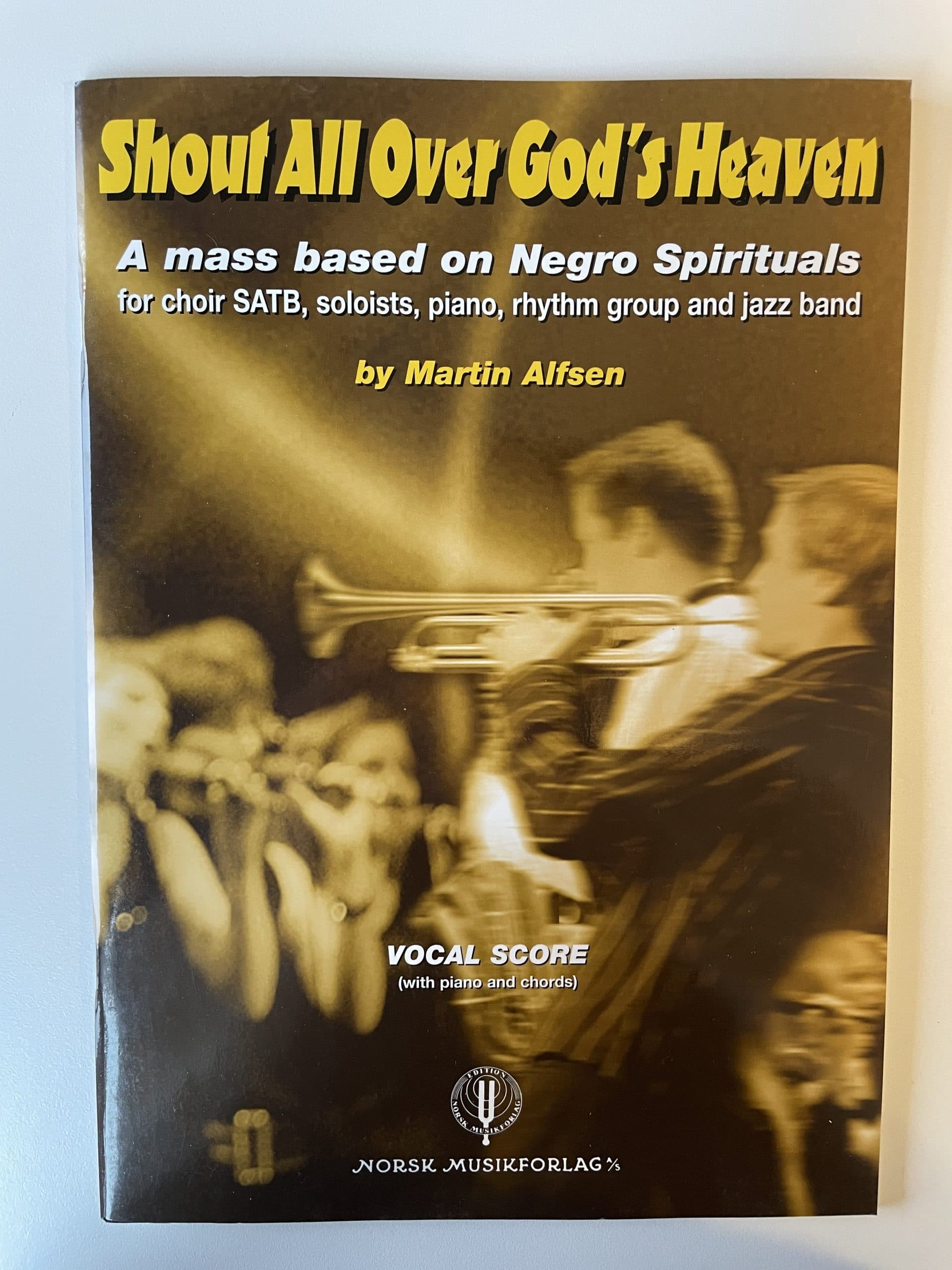 Shout all over God's heaven - Vocal score-27289